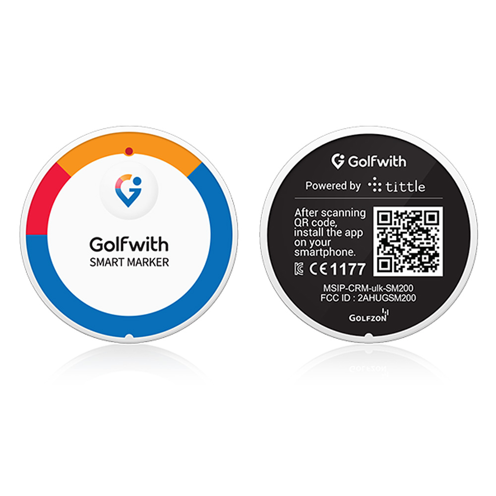 Smart Marker - GPS Golf Tracker & Ball Marker - No Logo