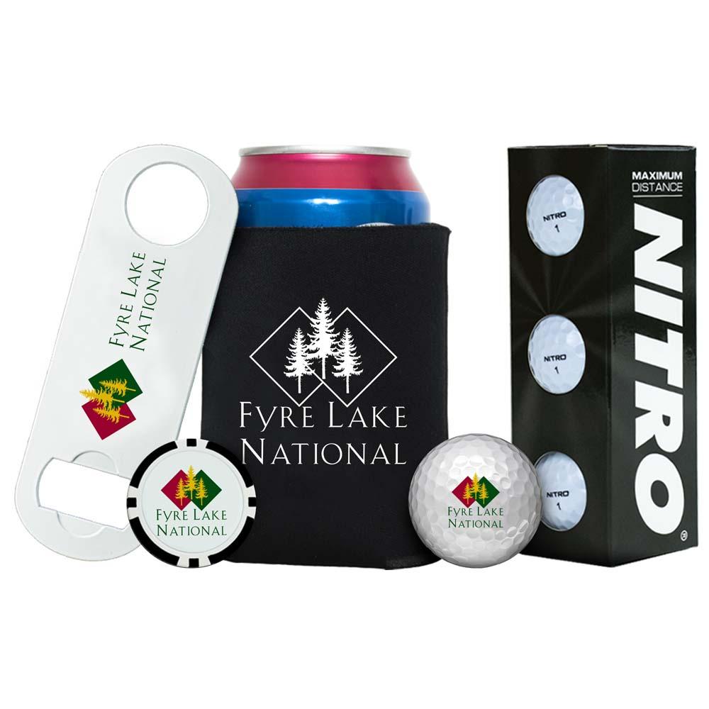 Triple Bogey Golf Kit - Nitro Golf Balls