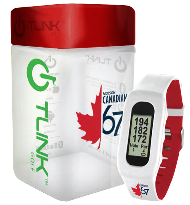 T-Link Golf And Fitness Watch - Custom Band & Packaging