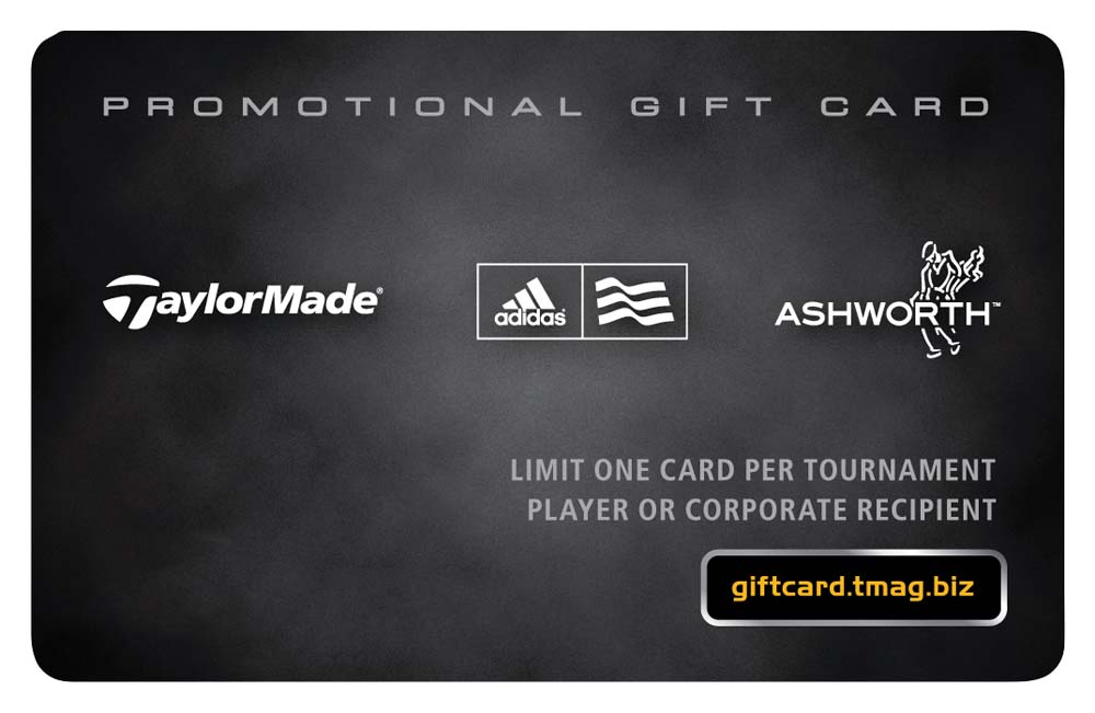 TaylorMade 100.00 Gift Card