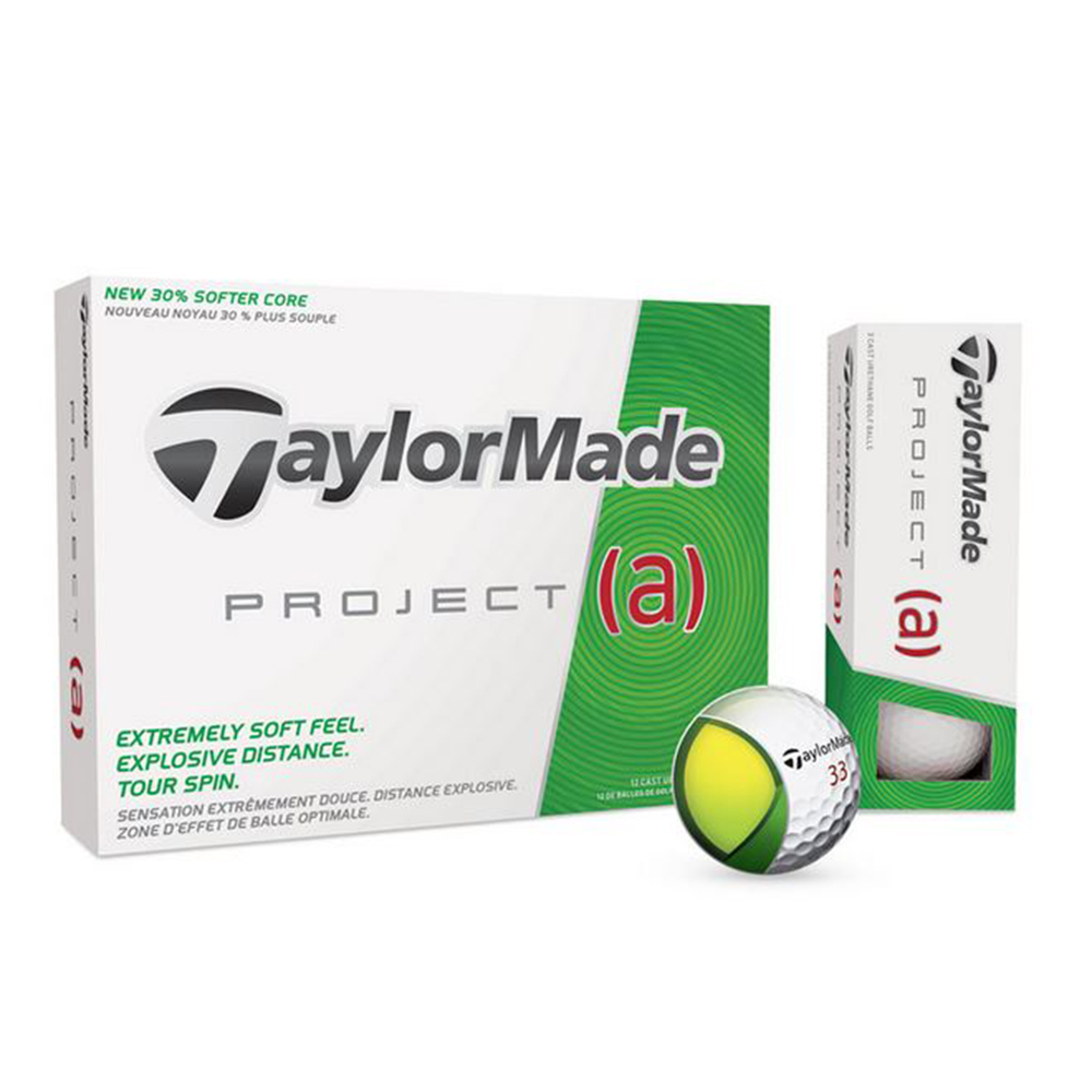 TaylorMade Project (A) Golf Balls - In house