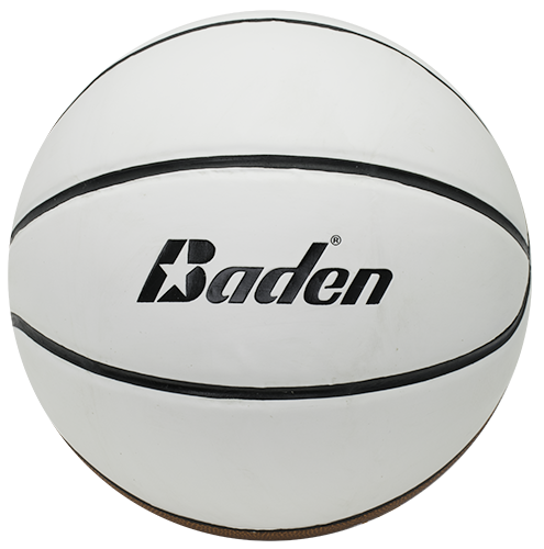 Baden Basketball with 4 autograph panels