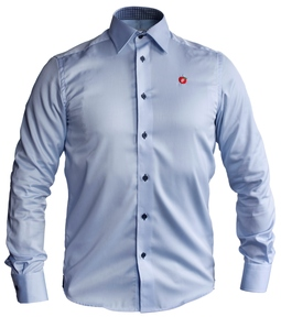 Frp Skjorte Harvest & Frost Herre Lys blå