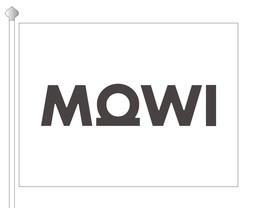 MOWI Flagg 200 x 150 cm sydd