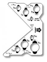 Custom Shaped Plastic Items .040 White Matte Styrene, 7 Sq/In, Spot Colours