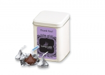 Hershey's Chocolate Kisses in Canister