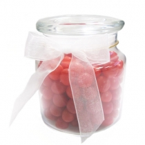 22 oz glass jar filled with Sour Balls