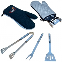 Bbq Tool Set In Mitt