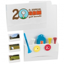 "4-2-1 Golf Tee Value Packet w/ 2 1/8"" Tees"