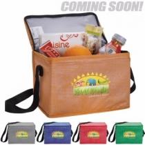 GoodValue® Non-Woven Shimmer Lunch Cooler