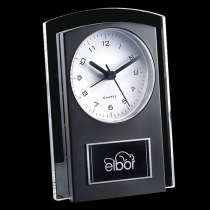 Black Mallory Clock