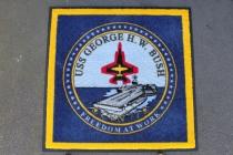 Logo Mat (3'x3')