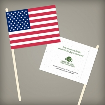 American Seed Paper Promotional Flags