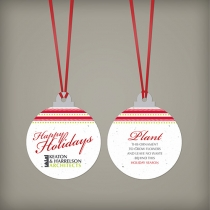 Christmas Ball Ornament, 2-Sided