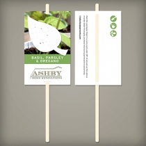 Herb Planting Sticks, 1-Sided