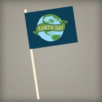 Seed Paper Promotional Flags, 1-sided