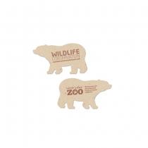 Wildlife Conservation Plantable Bear Shape, 2-Sided