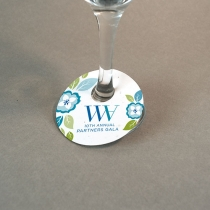 Seed Paper Wine Glass Tag, 1-Sided