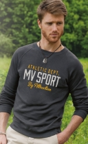 Men's MV® Sport Pro-Weave® Vintage Crew Neck Sweater