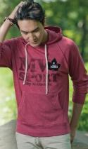 Men's MV® Sport Heather Pullover Hooded Sweatshirt