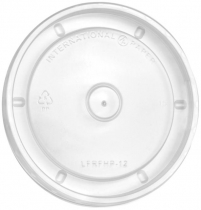 12 Oz. Lid for Paper Food Containers