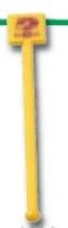 Swizzle Stick w/ Square Head