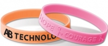 Embossed Or Debossed Silicone Bands