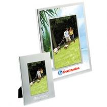"""Basic Brushed Aluminum Frame (4""""x6"""")"""