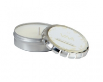 Candle in Large Push Tin