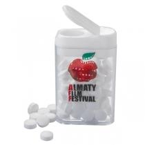 Rectangular Flip Top Mint Dispenser