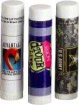 Natural Lip Balm in White Tube