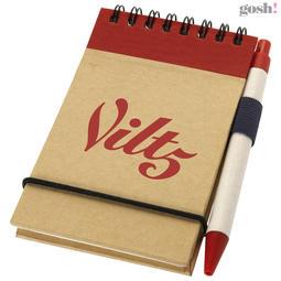 Zuse notatblokk med penn