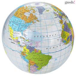 Globe gjennomsiktig badeball