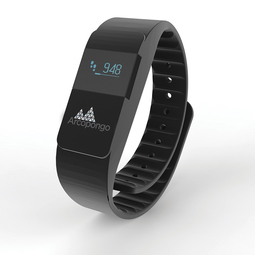Activity tracker Keep fit, black