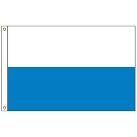 san marino 6' x 10' outdoor nylon flag w/ heading & grommets