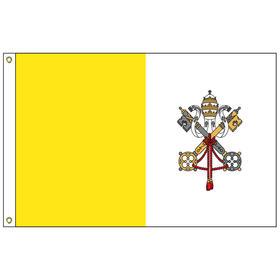 vatican city 6' x 10' outdoor nylon flag