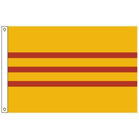 vietnam south-historical 6' x 10' outdoor nylon flag