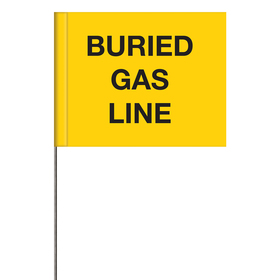 Generic Message Marking Flags - Buried Gas Line