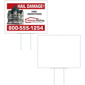 Medium Corrugated Yard Sign - Process Print - 1 Side