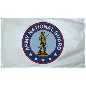 national guard 3' x 5' outdoor nylon w/heading & grommets