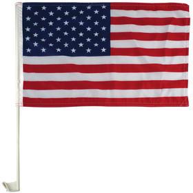 """11"""" x 18"""" economy us car flag - imported"""