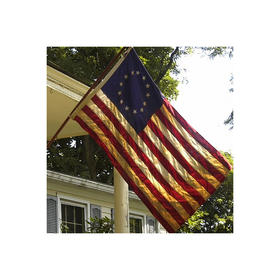 3' x 5' specialty cotton vintage betsy ross flag