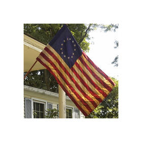 2.5' x 4' specialty cotton vintage betsy ross flag