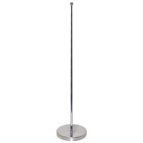 "10.5-19"" metal telescopic flagpole for one flag"