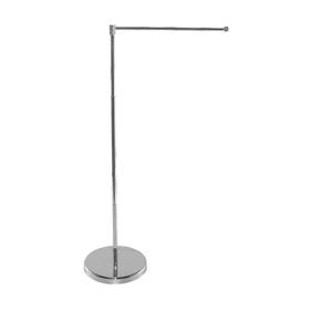 "11-19.7"" metal telescopic flagpole for one banner"