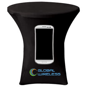 """31.9"""" x 43.3"""" round stretch table cover"""