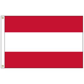 tahiti 4' x 6' outdoor nylon flag w/ heading & grommets