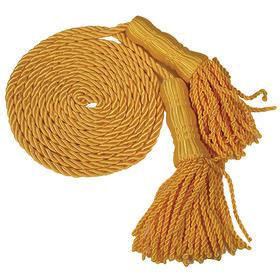 """9' gold cord & 7"""" tassels"""