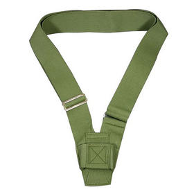 single harness carrying belt  olive webbing