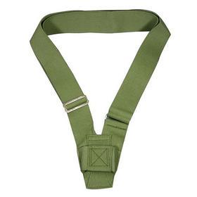 single harness carrying belt  olive webbing